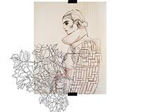 Vis-u-al poems | graduate collection | sketchbook