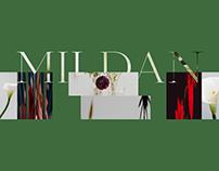 MILDAN: Floral Studio Design Concept