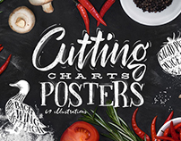 Cutting Charts Posters