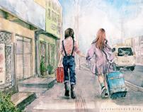 Travel _watercolor