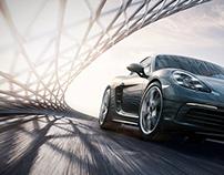 Free work Porsche Cayman S