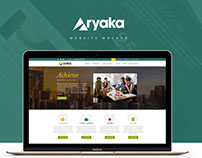 Aryaka Electric Website Mockup