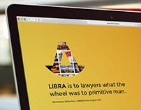 Libra Landing Page Design