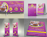 Cake Shop Advertising Bundle Vol.2