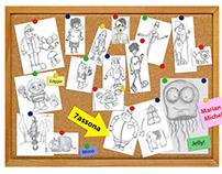 Games: Character design & environment (Concept art)