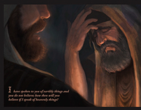 Christ meets with Nicodemus