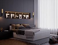 Lazenska Prague (Bedroom)
