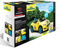 Minions Speed Coupe Package