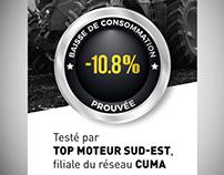 Bannière Web pour le magazine Entraid'www.entraid.com