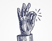«Трёшка»: logotype, identity / логотип, айдентика