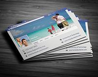 Facebook Timeline Business Card