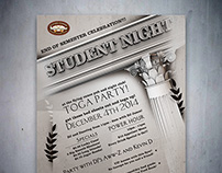 Poster/Flyer: Student Night
