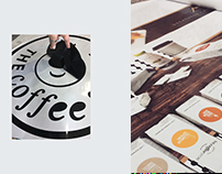 The Coffe Store | Diseño vidriera - window