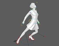 Создание персонажей,ригов,контроллеров,анимации