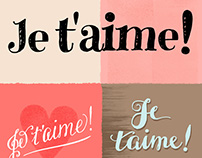 Je T'aime! (I love you) Poster