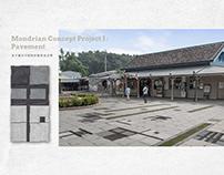 Mondrian Concept Project I | Pavement