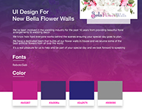 Bella Flower Walls