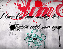 Cheryl Lloyd - I Wish Lyric Video Graphics