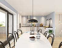 Visuals | Interior design | real estate advertising CGI