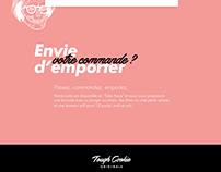 Tough Cookie | Webdesign