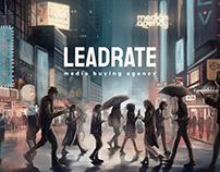 LeadRate website design
