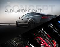 Audi Landing Page | CONCEPT