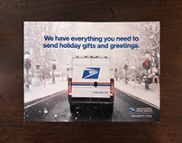 USPS Holiday Direct Mail