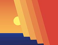 Sunset Poster Series
