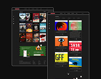 Cinema website redesign and app concept