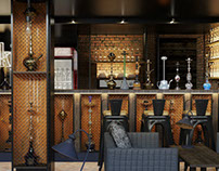 Loft Hookah bar in Moscow