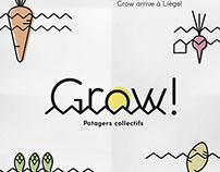 Grow Collective Garden / Visual Identity