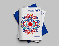 ITF (International Tennis Federation) Programme Booklet