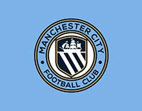 Manchester City Football Club Badge redesign idea
