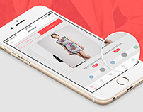 Inter Shop - Awesome Online Shopping iOS App (Free PSD)