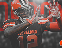 2018 Cleveland Browns Art - Personal Project