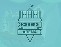 Iceberg Arena | Low poly modeling