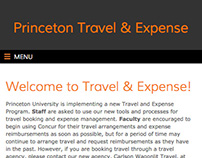 Princeton Travel & Expense