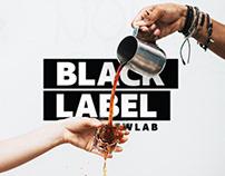 Black Label Brewlab | Brand Identity