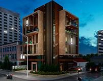 Render Exterior Apartaments