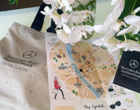 Budapest Fashion Map for Bercedes-Benz Fashion Week CE
