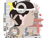 Tokyo Illustration series