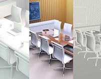 Sala de reunião - Modelagem 3D