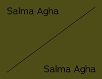 Salma Agha / Poster