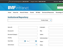 International Monetary Fund Intranet