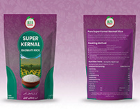 Basmati Rice Packaging Design