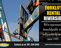 Forklift Rental Riverside