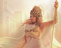 WAR OF THE GODS - Athena