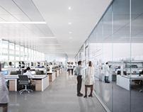 Laboratory interiors