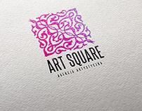 Identyfikacja graficzna dla agencji Art Square.