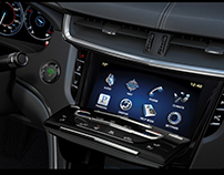 Cadillac CUE - Home Screen Icon design